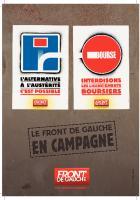 4 PAGES Front de gauche - Pour une autre politique : des mesures d'urgences !
